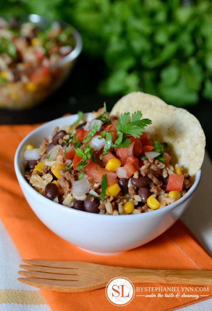 Tex Mex Rice Bowl Recipe - Quick and Easy make ahead dinner / snack #BTSatSafeway #PMedia #ad