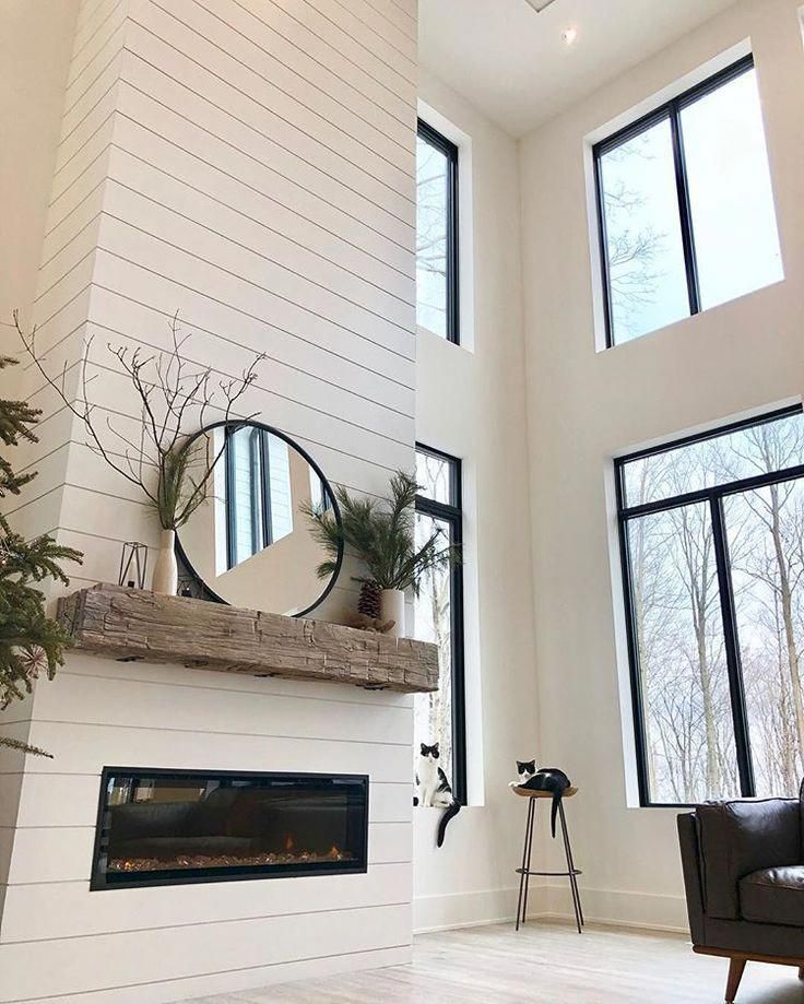 Most Up To Date Totally Free Modern Farmhouse Mantle Thoughts Country Chic Living S Come A In 2021 Farm House Living Room Modern Farmhouse Living Room Fireplace Design Living room fireplace ideas 2021