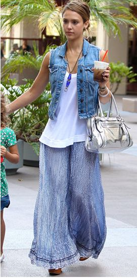 100 Inspirations | celebrity style for less : Jessica Alba Look for Less