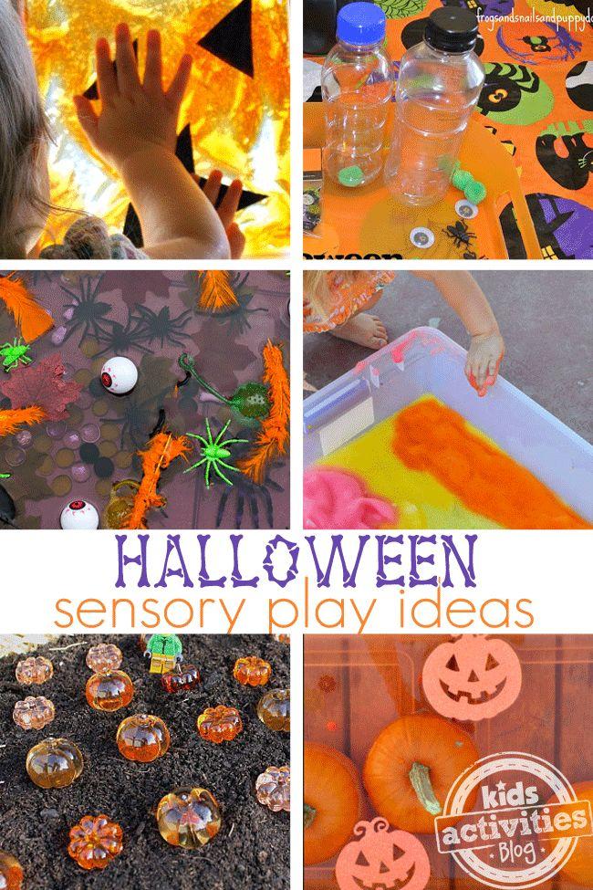 8 Halloween Sensory Play Ideas