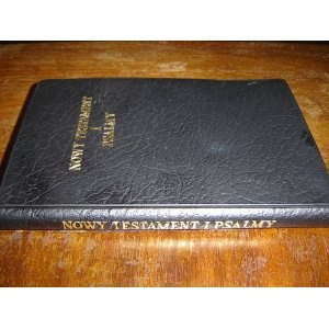 Polish New Testament and Psalms $29.99