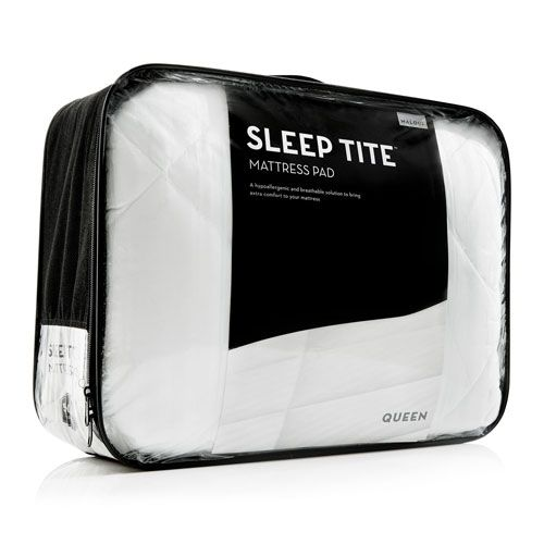 Sleep Tite White Quilted Twin XL Mattress Pad - (In No Image Available)