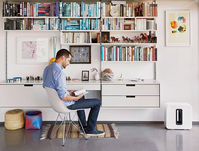 Desk & Storage