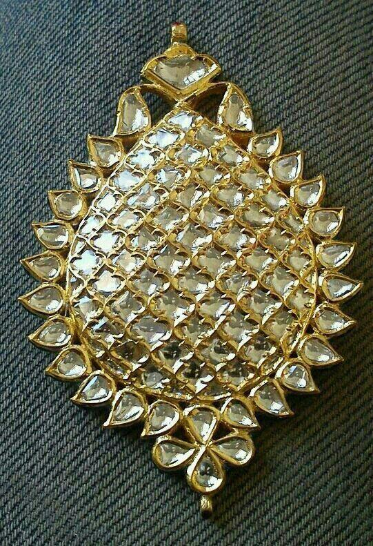 Polki pendant by vijay