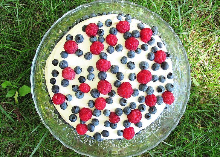 Tort cu fructe de padure (fara zahar)