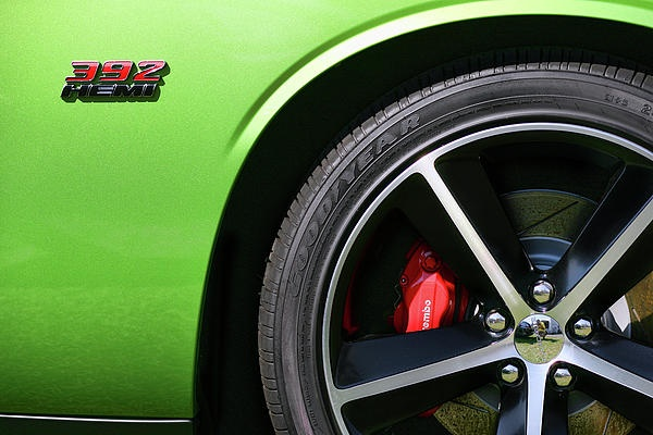 2011 Dodge Challenger SRT8 392 Hemi Green with Envy