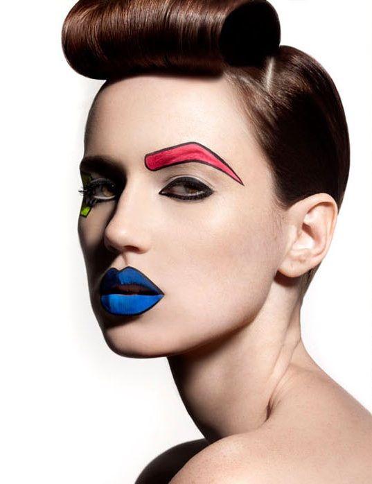 Cartoon Makeup: 55 Best Images About Cartoon Makeup On Pinterest