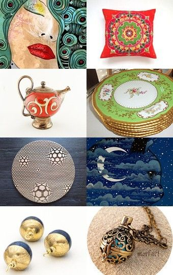 Oriental Style by Lika Ramati on Etsy--Pinned with TreasuryPin.com