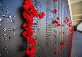 ANZAC memorial wall.   Australian & New Zealand Army Corp WWI