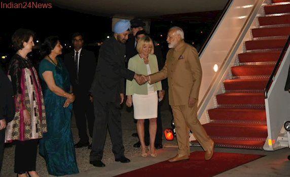 Modi in US: Indian diaspora chant 'Bharat Mata ki Jai' as PM lands in Washington