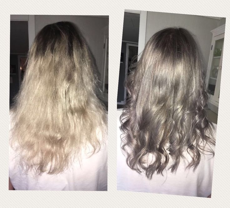 Before/after stormy hair