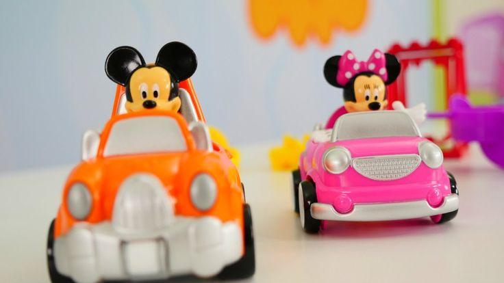 Видео про машинки: Микки Маус и игрушки Щенячий патруль. Волшебная короб...