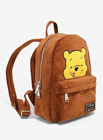 651ccdef0ee Loungefly Disney Winnie The Pooh Corduroy Mini Backpack - BoxLunch  ExclusiveLoungefly Disney Winnie The Pooh Corduroy Mini Backpack - BoxLunch  Exclusive
