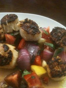 summer scallops | Seafood & Fish | Pinterest