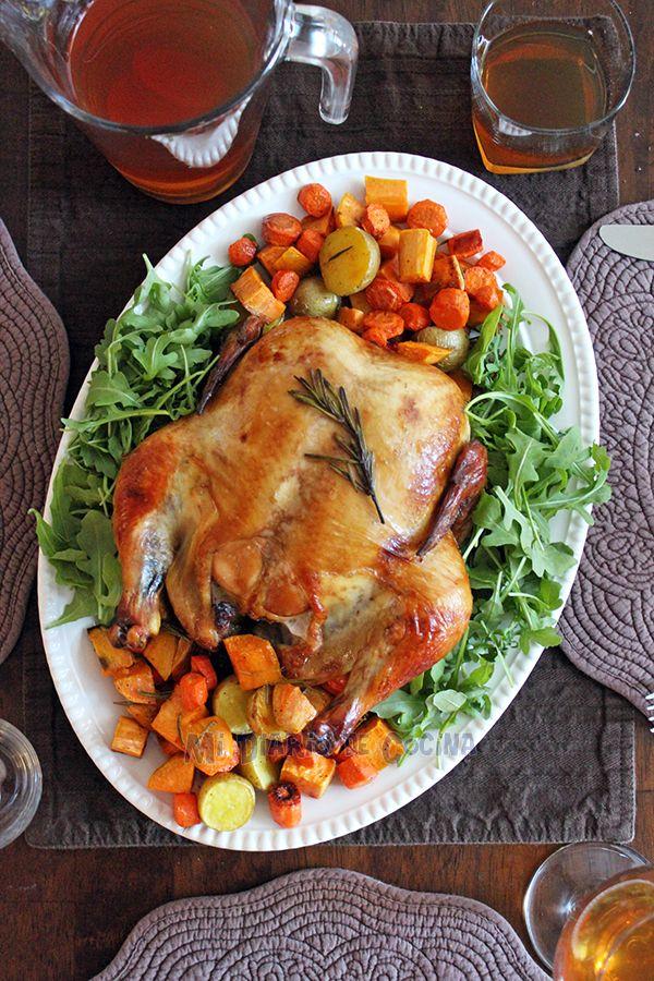 Mi Diario de Cocina | Baked marinated chicken with vegetables | http://www.midiariodecocina.com/en/