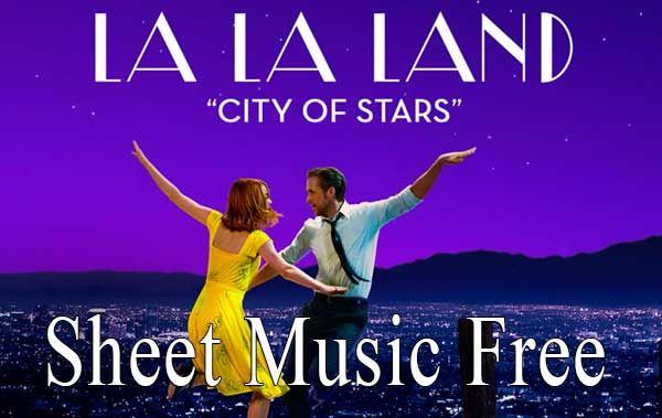 City Of Stars Sheet Music La La Land Sheet Music City Of Stars Piano Sheet Music free