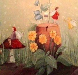 Ζωγραφική σε παιδικό δωμάτιο