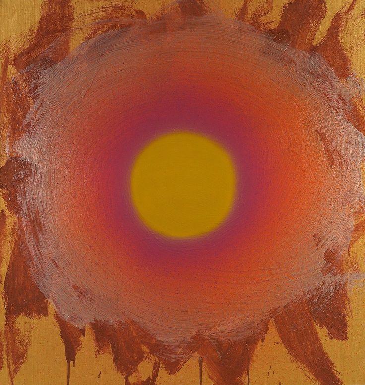 Dan Christensen (American, 1942-2007), Autumn Park II, 1997. Acrylic on canvas, 40 x 38 in.