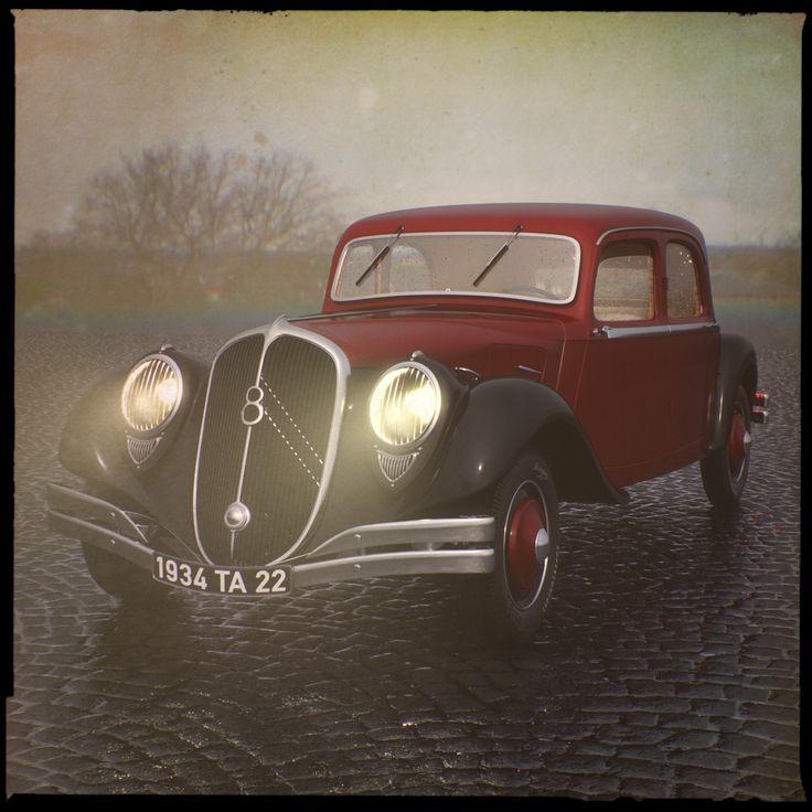 Citroen 22CV TA 1934 | Freelancers 3D