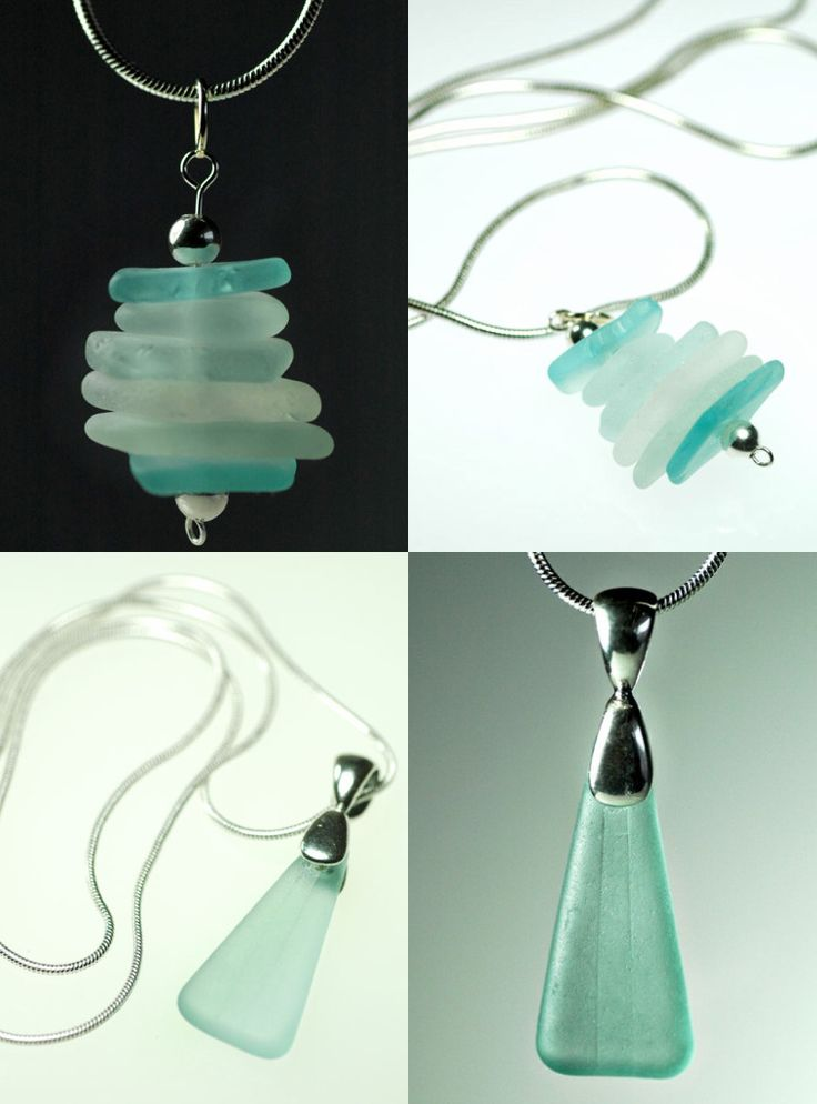 Loretta ~ make with pieces of sea glass from Cape Cod