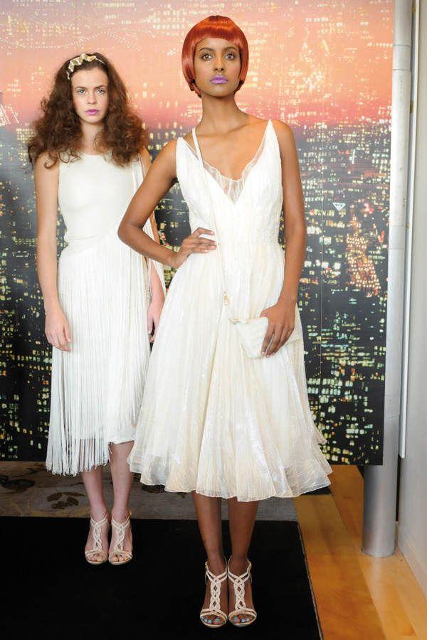 GNTM Sara Nuru for Cesar Galindo New york Fashion week 2009 foto-getty-image