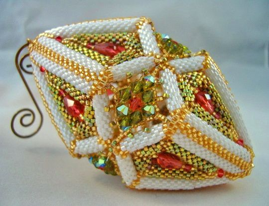 90 best Peyote Christmas items images on Pinterest  Beads