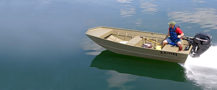 Lund Boats - Hunting and Utility Boats - Jon Boat Series