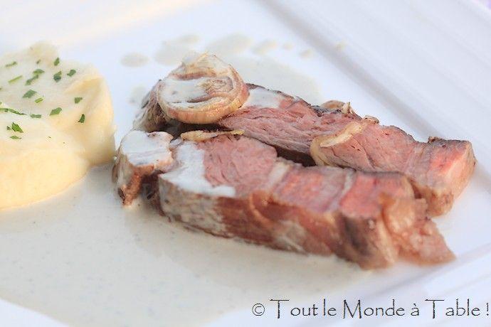 C te de boeuf cuisson basse temp rature sauce au bleu de gex basse temperature pinterest - Temps cuisson cote de boeuf ...