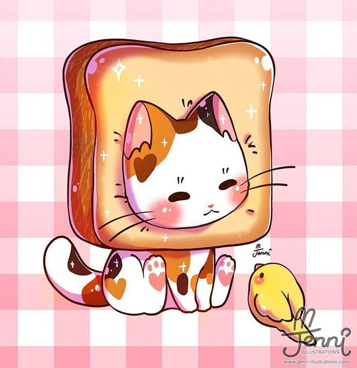 мраморный картинки кавай кошки очень интересно