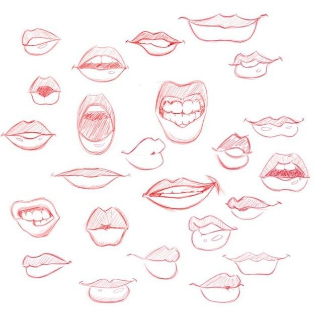 Mike Landry — I always have a hard time drawing lips. Soooo I...