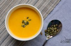 Möhren Ingwer-Suppe #detox #cleaneating