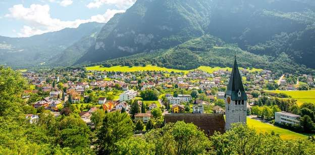 Nestled between Switzerland and Austria, Liechtenstein is the sixth smallest country in the world. B... - RossHelen/Getty Images