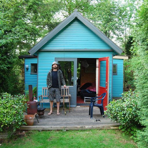 281 best tiny houses prefab and kit homes images on for Shed guest house kit