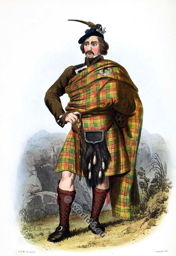 1740 scotland - The Highlanders Of Scotland The Clans Of The Scottish Highlands By James Logan Dress