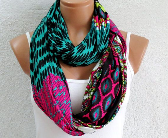 Aztec tribal patterns scarvesChevron by WomensScarvesTrend on Etsy, $23.00