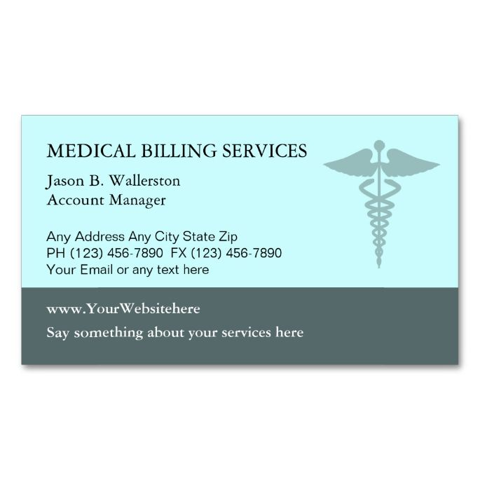 2183 best medical health business card templates images on pinterest medical billing business cards reheart Gallery
