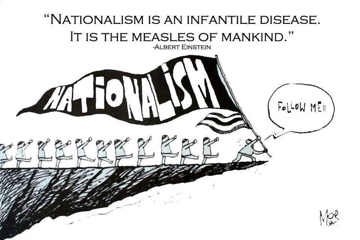 Image result for nationalism cartoon