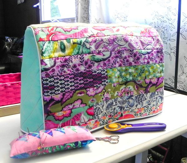 40 Best Sewing Machine Cover Images On Pinterest Bag Patterns Custom Made By Me Sewing Machine