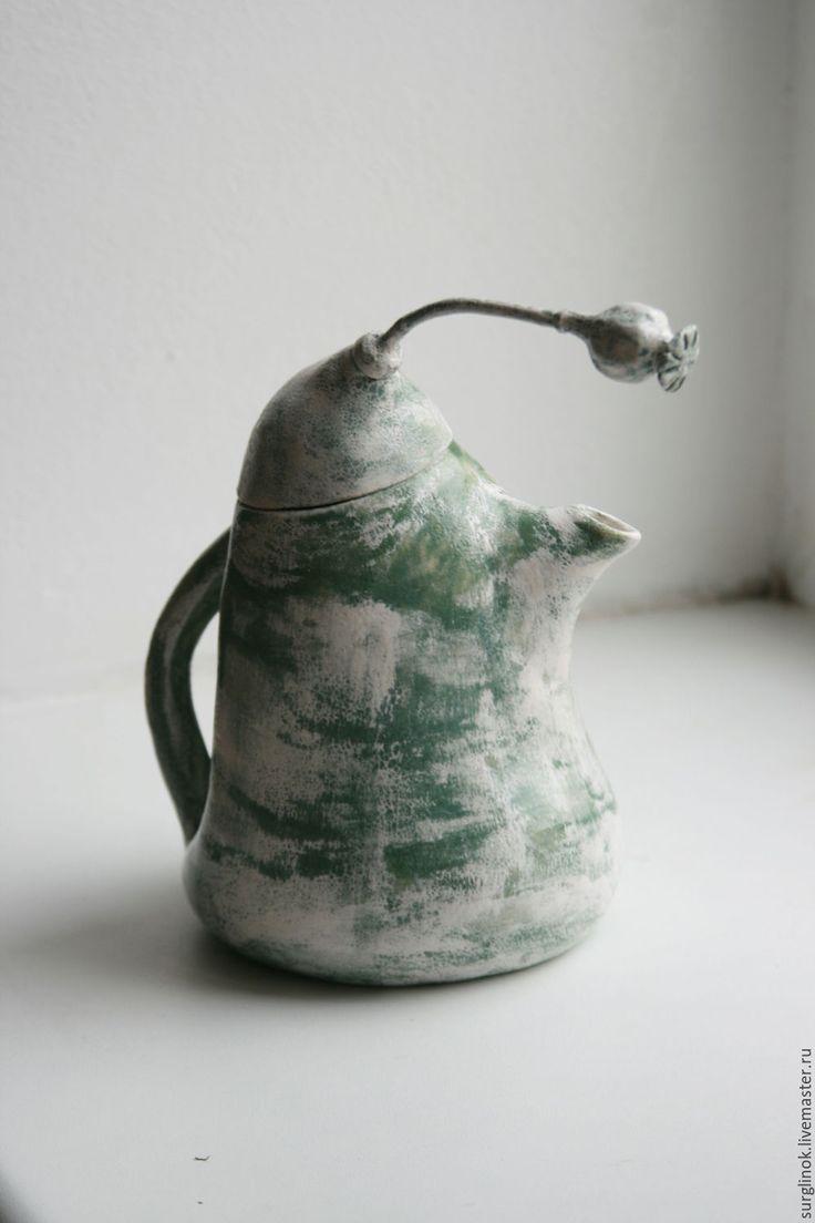 Чайник. http://www.livemaster.ru/surglinok http://vk.com/surglinok  #чайник #чайники #мак #маки #кухня#длякухни #уютнаякухня #surglinok #керамика  #керамикаручнойработы  #подарок #авторскаяработа #авторскаякерамика #ручнаяработа #посуда  #посуданазаказ #surglinok  #уют #handmade #уютныйдом #подарокнаденьрождения #глина
