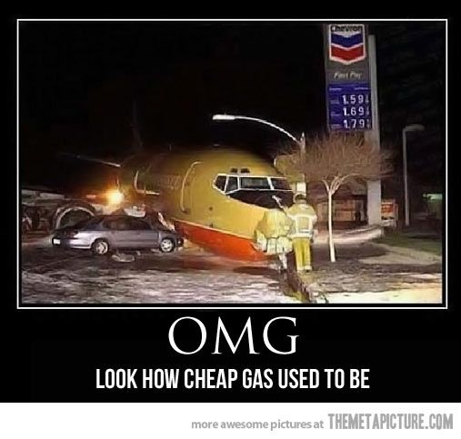 Does anyone else think this is from when the plane skidded of the runway at Midway??  Damn, gas WAS cheap back then!!
