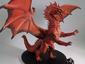 Red Dragon Updated (split up) in White Strong & Flexible