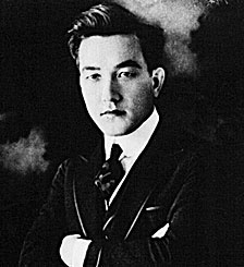 Look at this handsome man! Sessue Hayakawa was the first Asian American movie star.