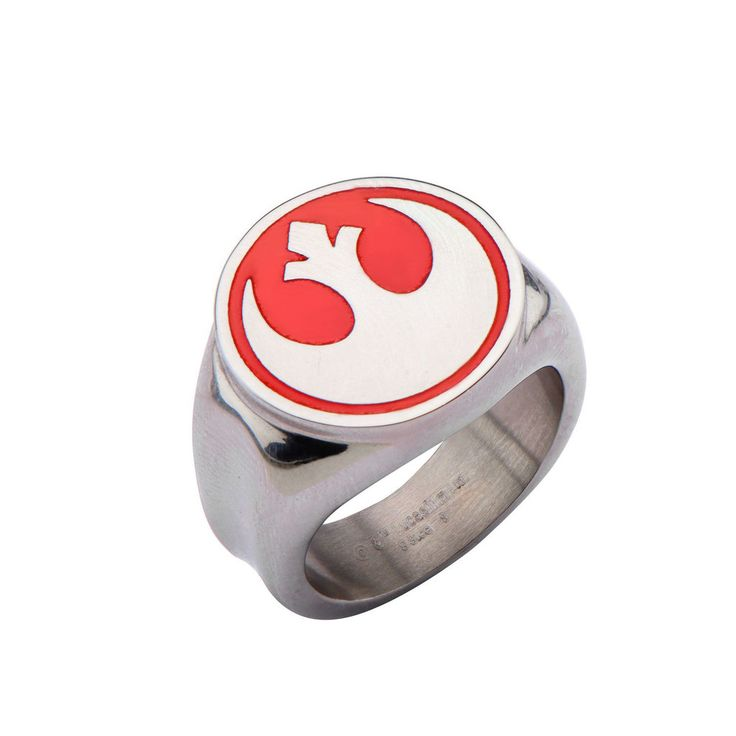 60 best star wars jewelry images on pinterest 316 stainless steel star wars rebel alliance red rebel symbol ring 316 stainless steel urtaz Choice Image
