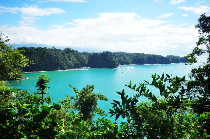 Panorama depuis le Parc Manuel Antonio au Costa Rica