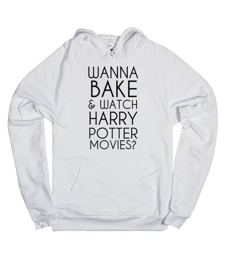 Wanna Bake and watch Harry Potter tank top tee