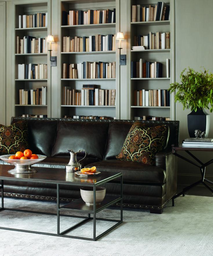 Bernhardt Cantor Sofa | White bedroom chair, Room, Living room