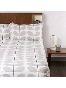 Scribble Soft Concrete Super King Duvet Cover