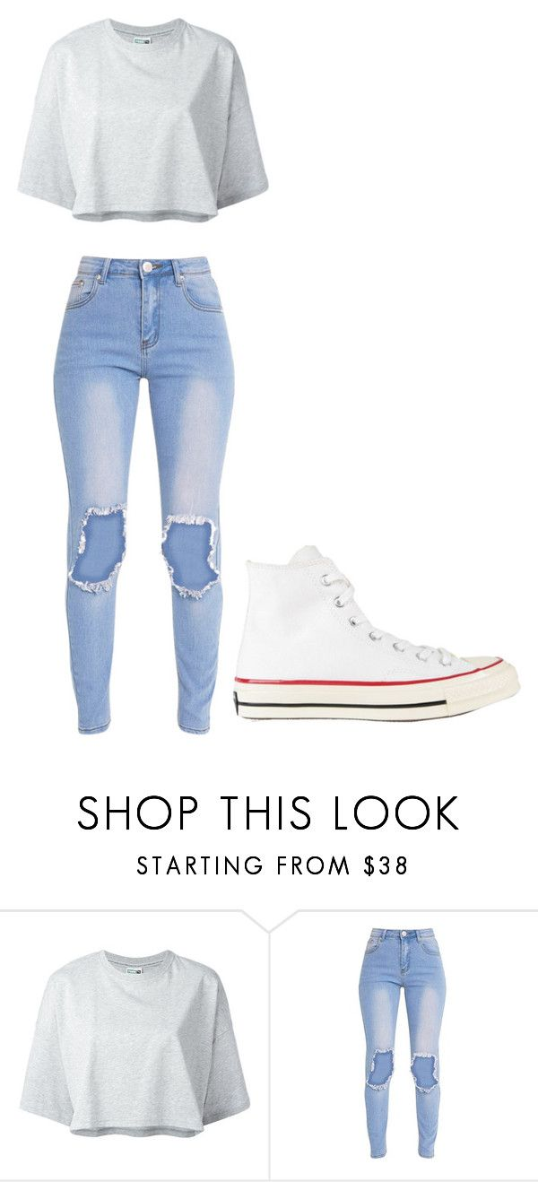 """Untitled #298"" by thenerdyfairy on Polyvore featuring Puma and Converse"