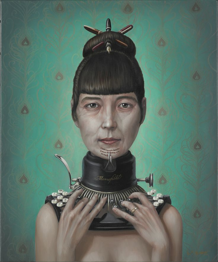 Postscript (Katherine Mansfield) 50.5w x 61 cm, Oil on Linen, 2013 www.liambarr.co.nz Copyright© Liam Barr. All Rights Reserved.