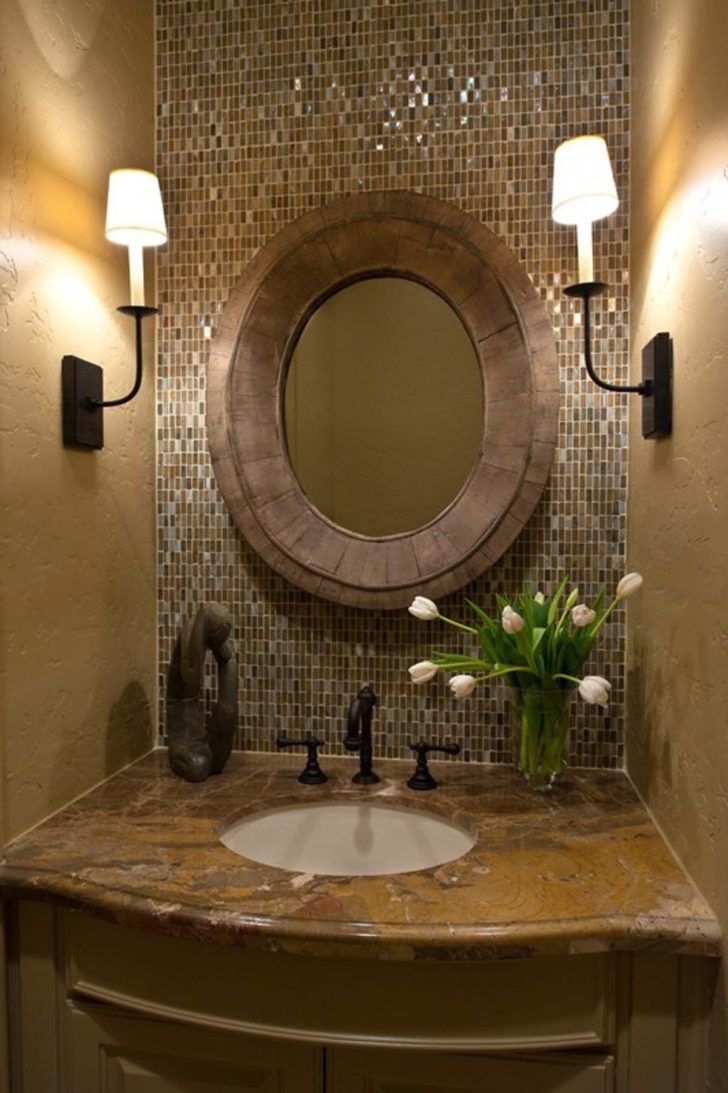 Traditional half bathroom ideas - 26 Half Bathroom Ideas And Design For Upgrade Your House
